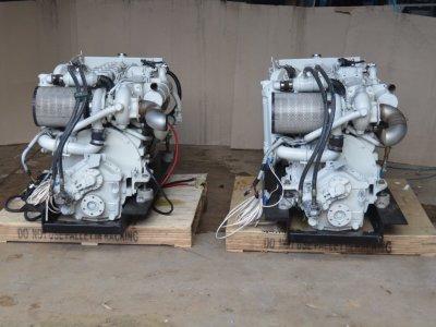 2 x CUMMINS 6BTA B315 Diamond edition marine engines