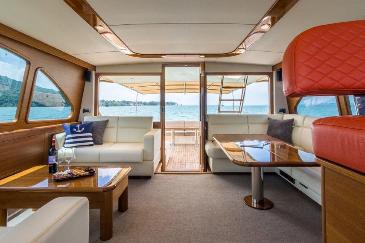 Palm Beach Motor Yachts 65 Flybridge with Bow rider and Opac Swim Platform