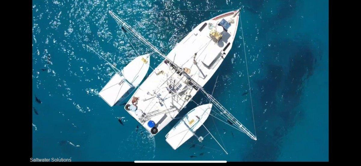 Spanish Mackerel fishing outfit North Qld