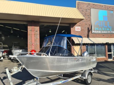 Brooker 455 Runabout 2017 LOW HOURS READY FOR NEW HOME!