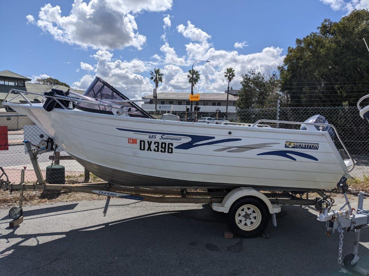 Horizon Aluminium Boats 485 Sunrunner