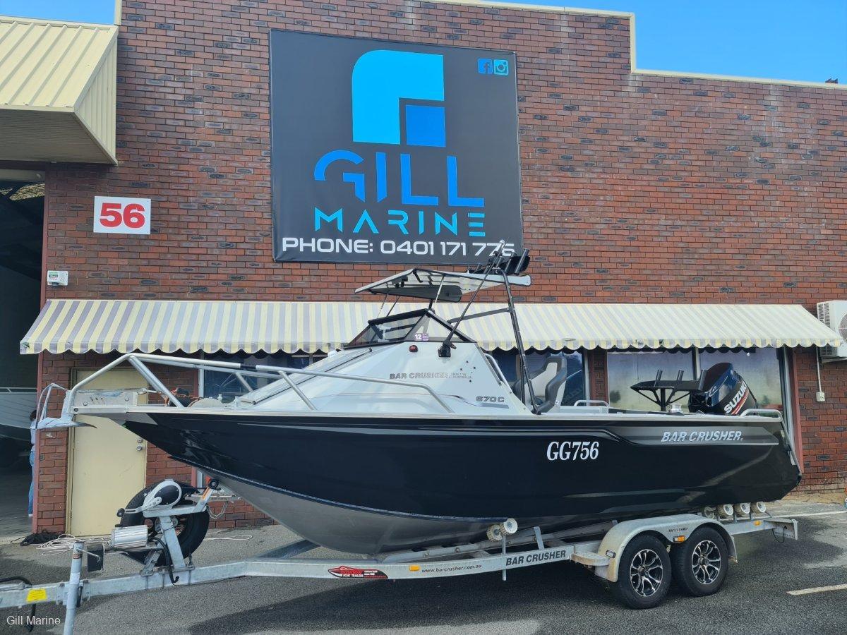 Bar Crusher 670C 2017 OFFSHORE FISHING ICON... !!!