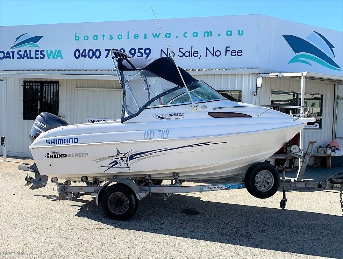 Haines Hunter 495 Breeze - Be quick for this great boat