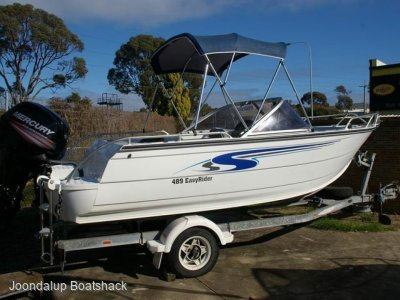 Stacer 489 Easy Rider 2008 bowrider with 2017 model four stroke