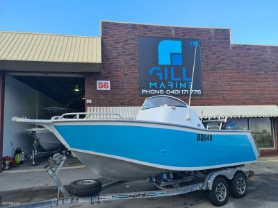 Jackman 6m SIDE CONSOLE ULTIMATE FISHING DIVING BOAT