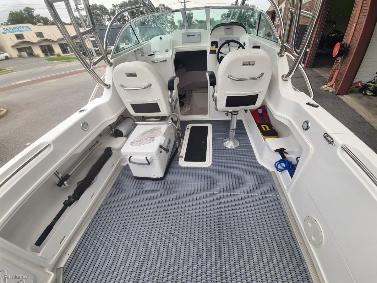 Haines Hunter 625 Offshore Hard Top 2020 MODEL LOW HOURS OFFSHORE FISHING WEAPON!