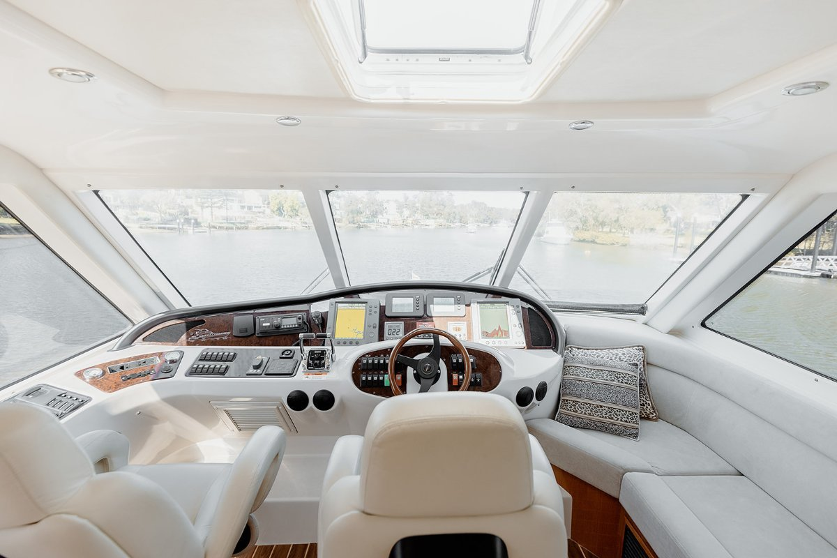 Riviera 58 Enclosed Flybridge