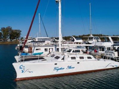 Crowther Design 85 MK2 50 Ft Blue -Water Liveaboard cruising Catamaran