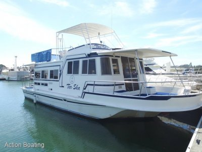 Coher 45 Homecruiser Houseboat