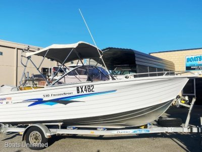Quintrex 530 Freedom Sport BOW RIDER GREAT FOR THE FAMILY AND FISHING