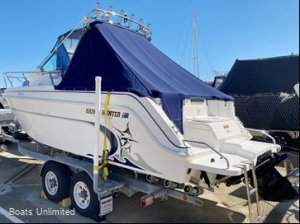 Haines Hunter 680 Patriot GREAT FOR THE FAMILY N FISHING FULL DETAIL BOOKED:SIDE PHOTOS WILL BE TAKEN ONCE FULLY DETAILED