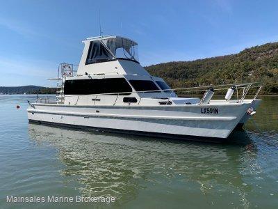 Crowther 38 Custom built power catamaran