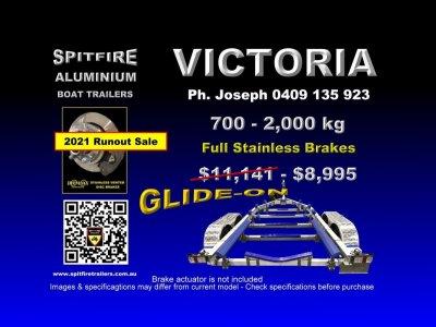 Spitfire Boat Trailer 7000-2,000kg
