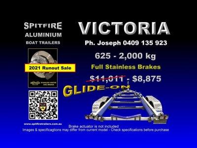 Spitfire 625-2 Ton Boat Trailer