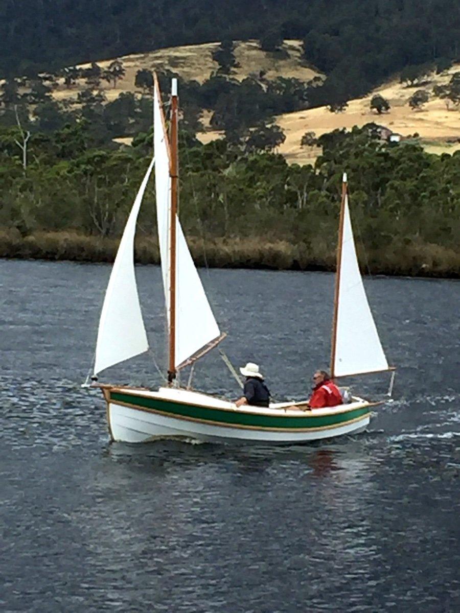 Pathfinder Trailerable Cruising Dinghy - John Welsford 5.25m yawl designed yacht
