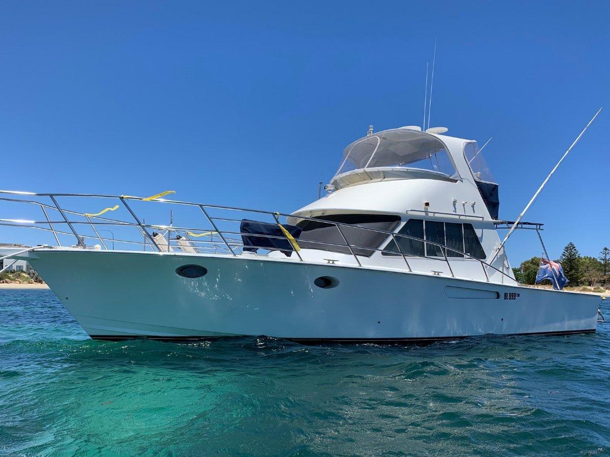 Precision Marine 45 SPORT FISHER FLYBRIDGE CRUISER:PRECISION 45 by YACHTS WEST MARINE ph 9335 7788