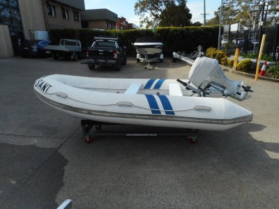 Barefoot Open Dinghy