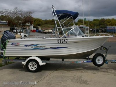 Quintrex 520 Coast Runner Cv 2008 model