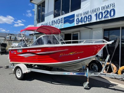 Quintrex 510 Freedom Sport B/R with Yamaha 100hp 4 Stroke 2007 package