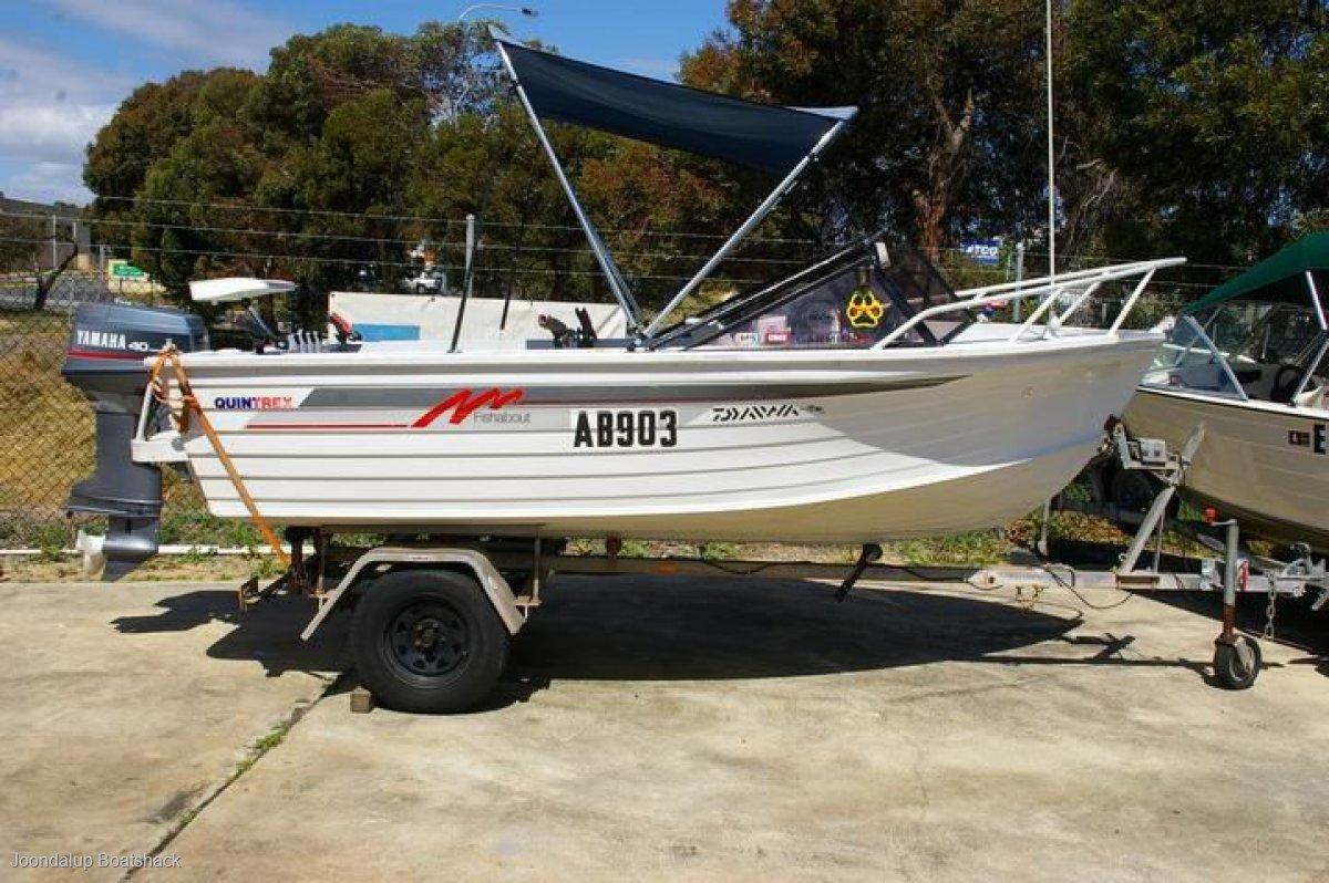 Quintrex 450 Fishabout Yamaha 40hp