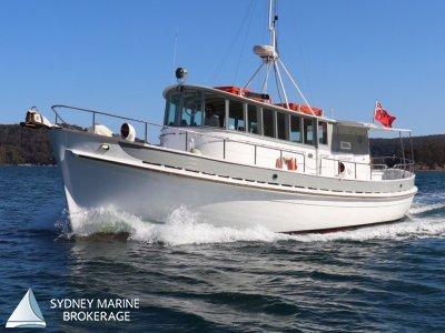 MV Maltby - Stunning Timber Charter Vessel