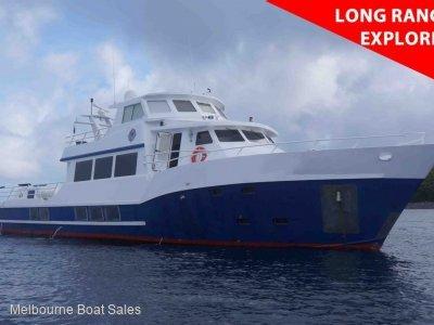 Expedition Long Range Motor Yacht - LONG RANGE PILOT HOUSE EXPLORER