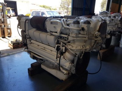 MTU 8V 2000 series M92 Engines
