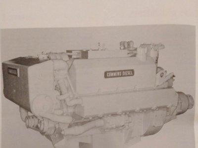Cummins V470 V8 Marine Engines185 HP 24 volt
