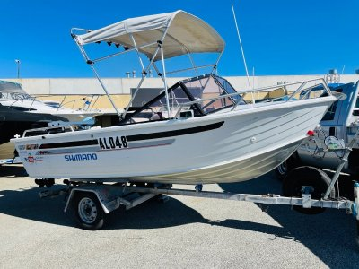 Quintrex 475 Bay Hunter Great Sized Package