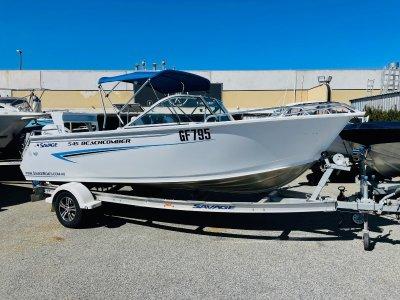 Savage 545 Beachcomber Versatile Family Boat with Only 48 Hours Use!!