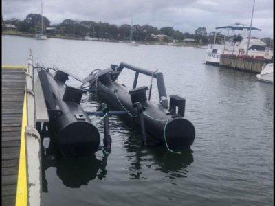 Marinescapes / custom boat float