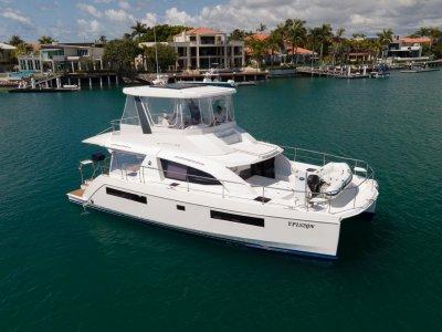 Leopard Catamarans 43 PC - Stunningly presented Powercat - 3 Cabin version
