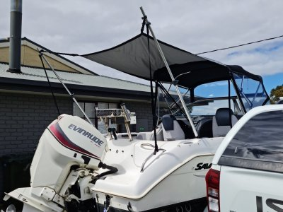 Savage 585C 19ft or 5.8m boat
