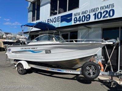 Quintrex 570 Cruiseabout Mercury 115hp 4 stroke OB