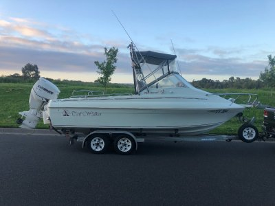 Haines Signature 600RF Fishing Boat Protough 600RF built to survey with self drain dec