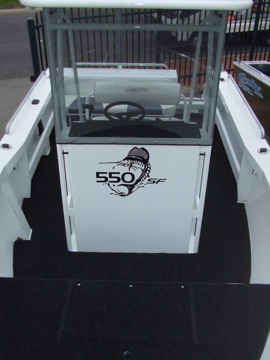 """Coraline """"SERIES II"""" 550 SF CENTRE CONSOLE"""