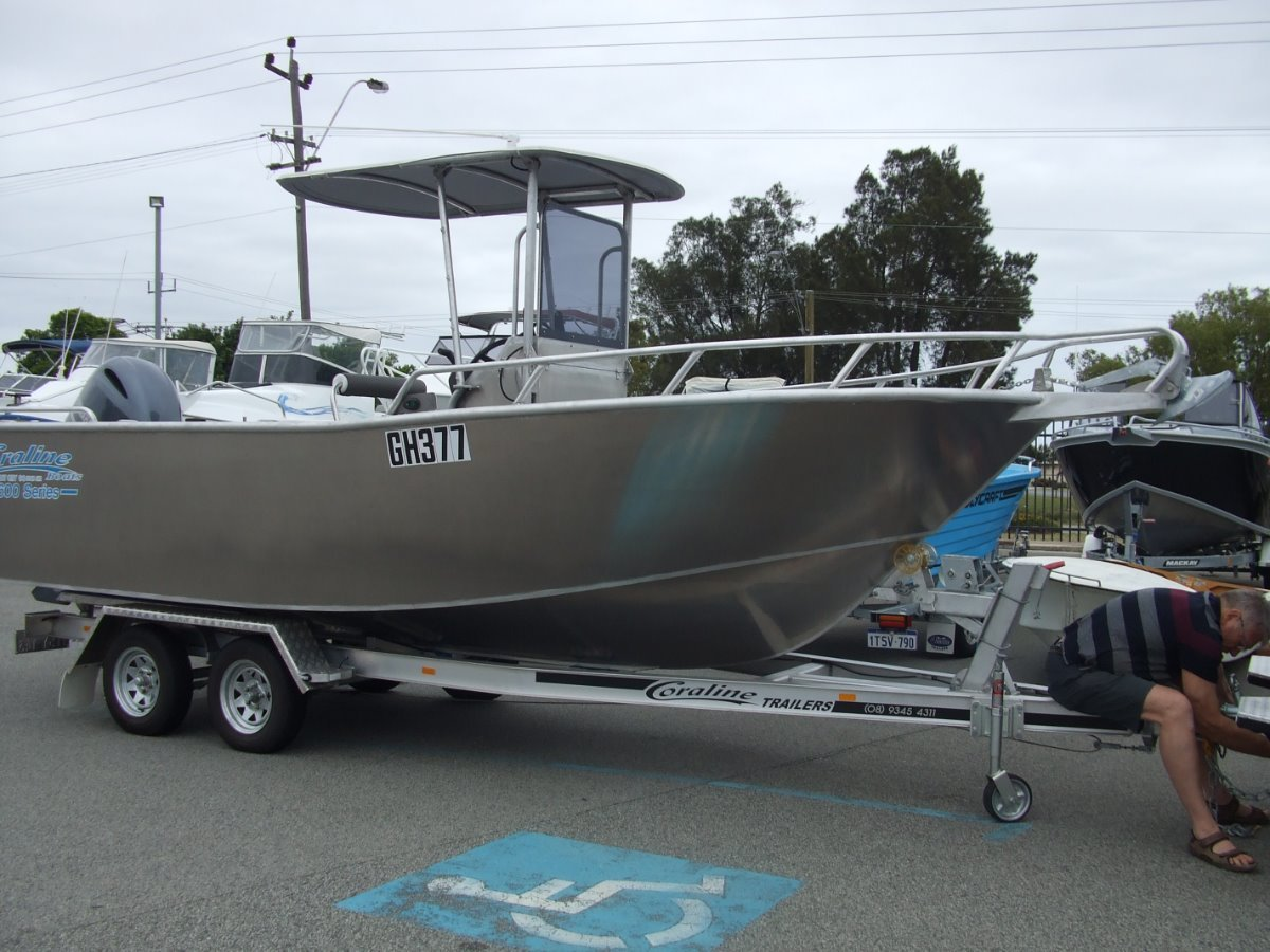 "Coraline ""SERIES II"" 600 SERIES- RUNABOUT OR CENTRE CONSOLE"