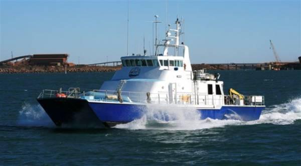 Nqea Catamaran 24m Ali Fast Utility Catamaran