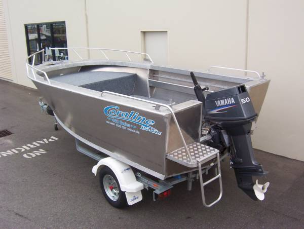 "New Coraline ""SERIES II"" WAHOO OPEN BOAT"