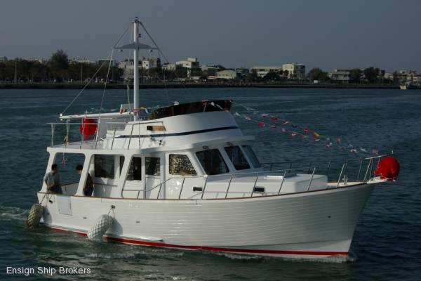 New Shoreline 43 Sedan