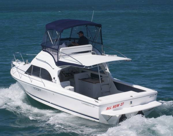 Caribbean 27 Flybridge Sports Fisherman NEW