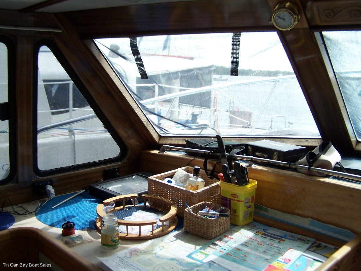 Bob Brett built 40 ft Cruiser for sale