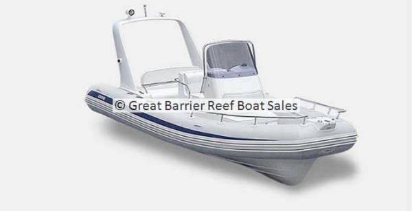 Grand Silver Line Hypalon Cruiser 5.5m Deluxe