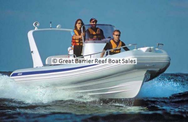 Grand Silver Line Hypalon Cruiser 6.5m Deluxe