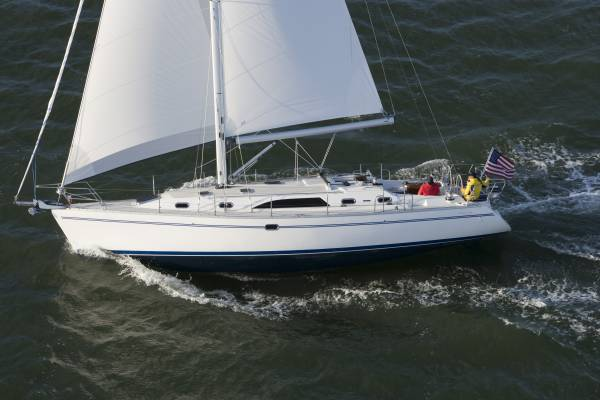 Catalina 445 Wing / Fin keel versions