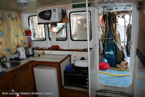 13.95m Steel Prawn Trawler