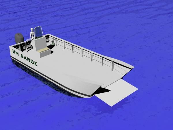 Barge 8m Aluminium Landing