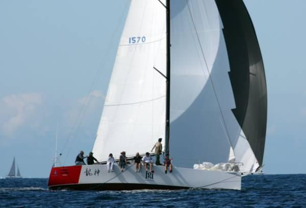 Sayer 12m Racing Yacht