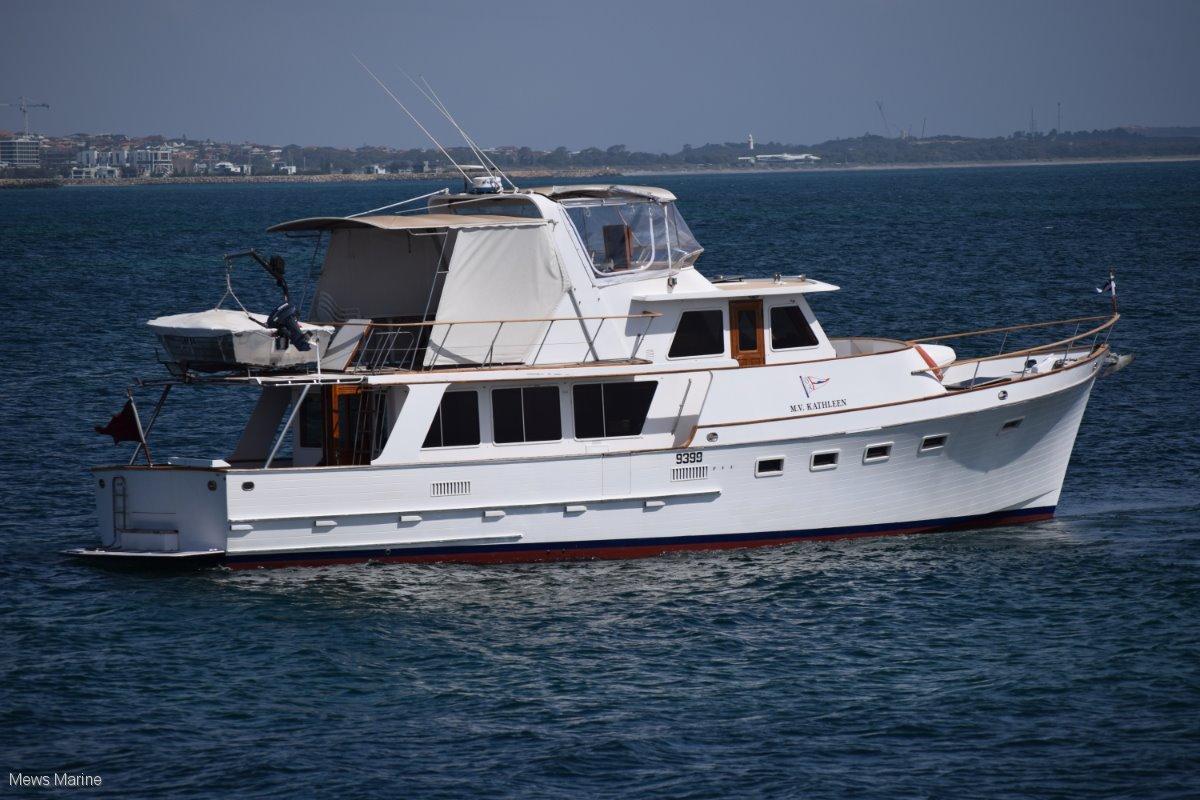 Ocean Alexander 55 Motoryacht Grand Banks style cruiser