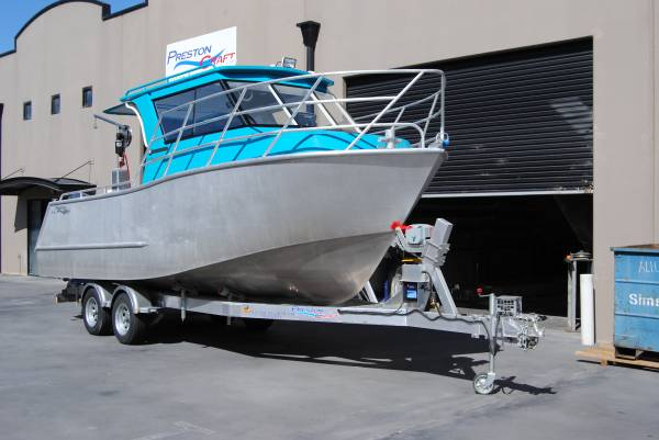Preston Craft 7.43m Commercial